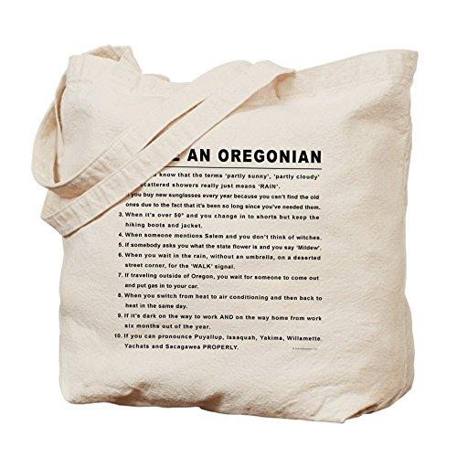 CafePress - You're An Oregonian - Natural Canvas Tote Bag, Cloth Shopping - Shopping Eugene Oregon