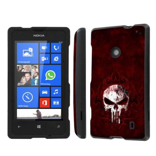 NakedShield Nokia Lumia 635 (Tribal Punisher) Total Hard Armor Protection LifeStyle Phone Case