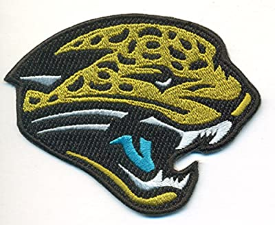 Jacksonville Jaguars Logo Football Embroidered Iron On Patches Hat Jersey