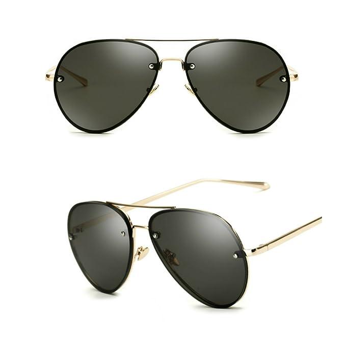 Amazon.com: Gafas de sol de Aviator de gran tamaño, estilo ...