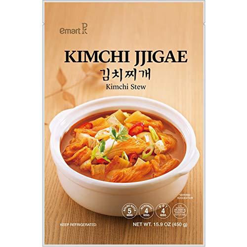 Korea Emart Korean Kimchi Jjigae Kimchi Stew Soup 김치찌개 Best Winter Meal 15.9oz - total of 2 units