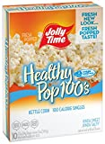 Jolly Time Healthy Pop Kettle Corn Microwave Popcorn Mini Bags | 100 Calorie Single Serving for Portion Control, 10-Count Boxes (Pack of 3) Review