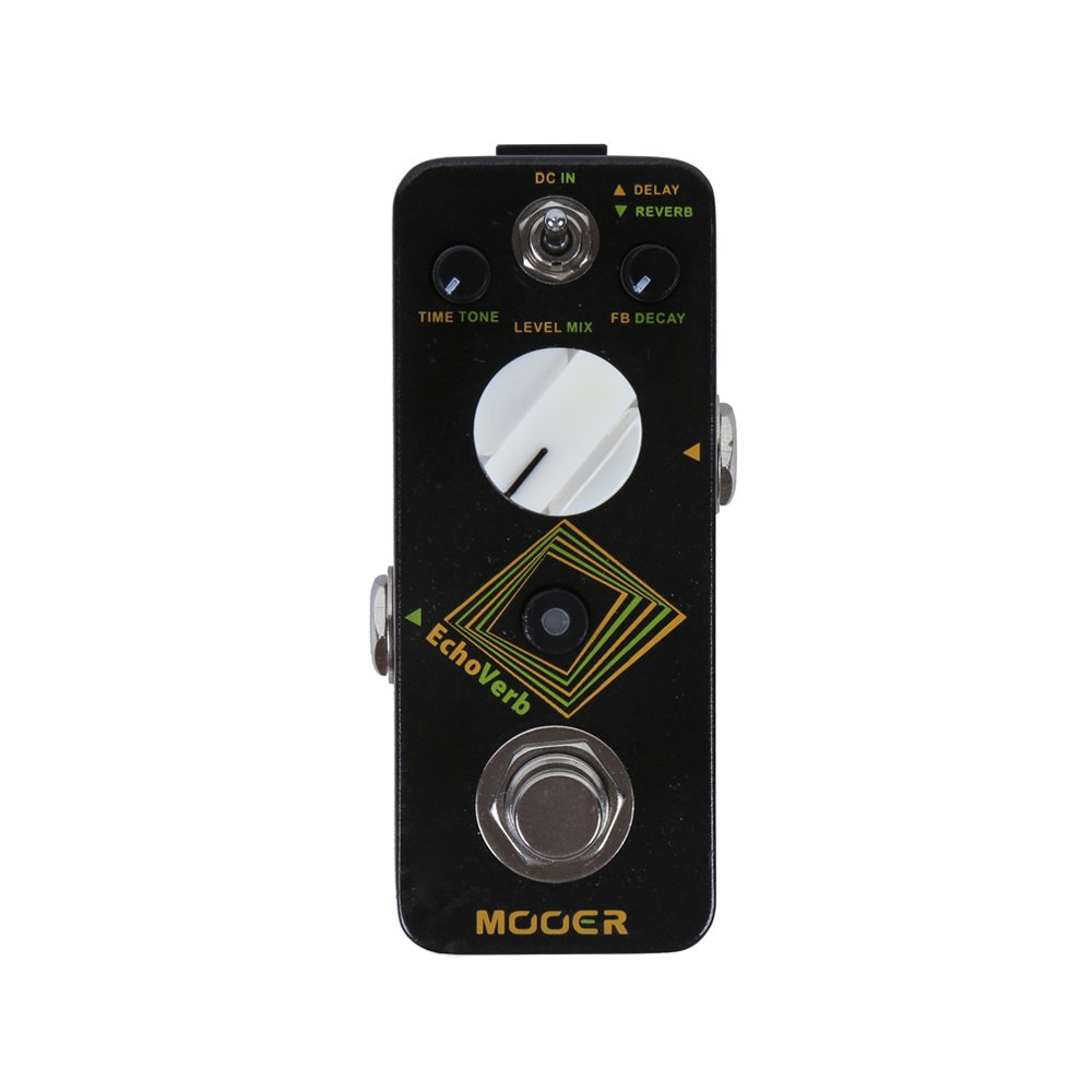 MOOER EchoVerb Digital Delay and Reverb Pedal by MOOER