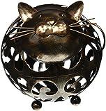 True Whiskers Cat Cork Holder, Metallic (Kitchen)