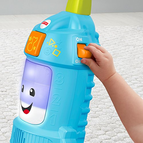 51xajMcWQqL - Fisher-Price Laugh & Learn Light-up Learning Vacuum