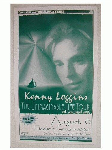 (Kenny Loggins handbill Poster Denver Face Shot)