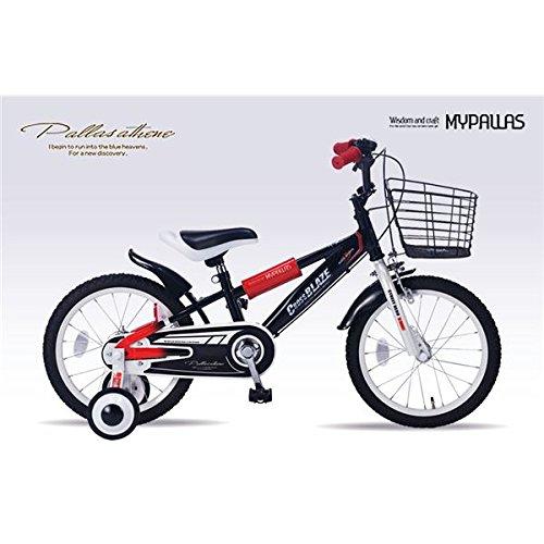 MYPALLAS(マイパラス) 子供用自転車16 MD-10 ブラック B01MXX7UP2