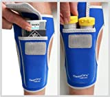 Insulated Case Carrier for Diabetes Supplies and Emergency Epipen | LegBuddy Size S-M