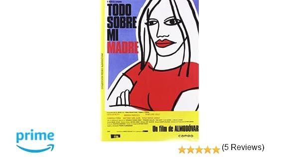 Todo Sobre Mi Madre [DVD]: Amazon.es: Cecilia Roth, Marisa ...