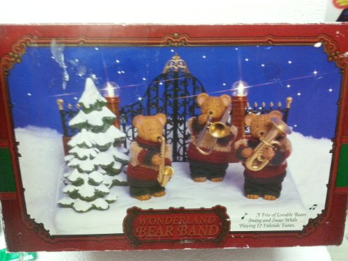(NEW, Wonderland BEAR BAND/ Swing and Sway While Playing 12 Yulietide Tune/)