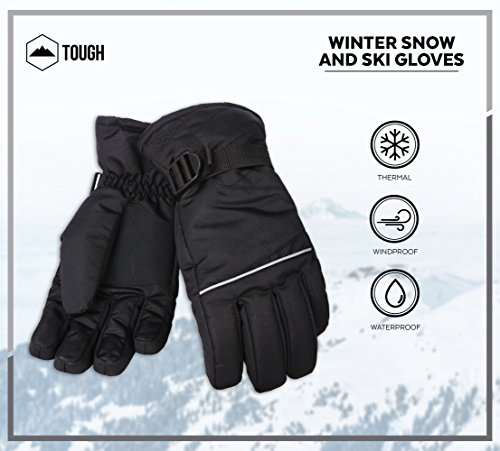 Tough Outdoors Winter Snow & Ski Gloves Designed for