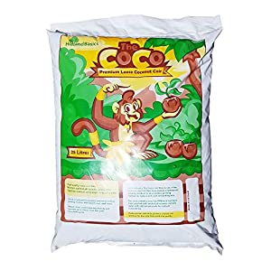 "HollandBasics""The Coco"" Premium Loose Organic Coconut Coir Growing Substrate 25 litres"