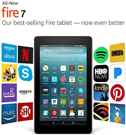 All-New Fire 7 Tablet with Alexa, 7