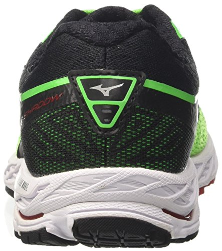 Mizuno Shadow de Chaussures Vert Vert Running Wave Homme Greenslimewhiteformulaone xpZxw1