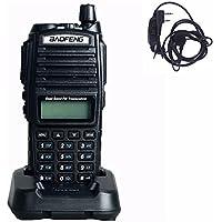 Baofeng UV-82 Walkie Talkie 136-174MHz 400-520Mhz Dual Band Amateur Ham Handheld Two Way Radio