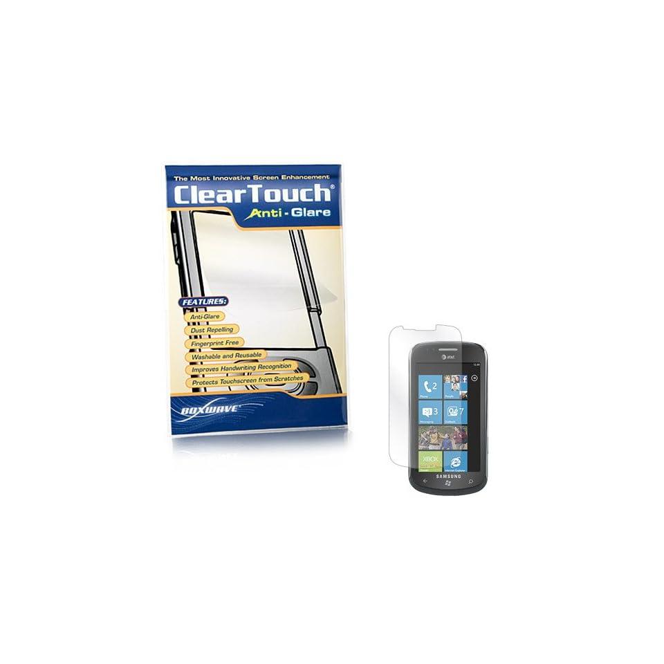 BoxWave Samsung Focus SGH i917 ClearTouch Anti Glare Screen Protector (Single Pack)   Anti Fingerprint, Matte Screen Guard Cover
