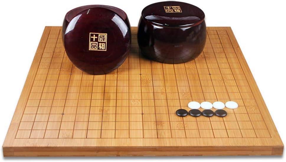 Go Game, Juego de Mesa Chino Juego de Puzzle Familiar Tamaño 18.5 * 17.3 : Amazon.es: Deportes y aire libre