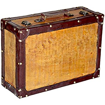 Amazon.com: Vintiquewise(TM) Old Vintage Suitcase/Decorative Trunk ...