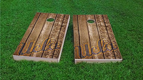 Tailgate Pro's UCLA Bruins Distressed Cornhole Boards, ACA Corn Hole Set, Comes with 2 Boards, 8 All Weather Bags & 1 Vinyl Carry Case