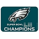WinCraft NFL Philadelphia Eagles Super Bowl LII Champions Mat, 20 x 30-inches