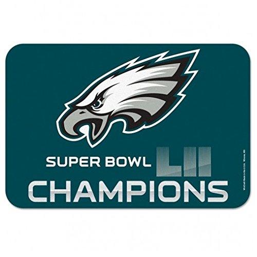 (NFL Philadelphia Eagles Super Bowl LII Champions Mat, 20 x 30-inches)