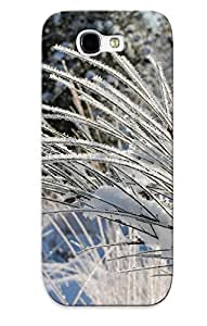 New Arrival Premium Galaxy Note 2 Case Cover With Appearance (frosty Grass)
