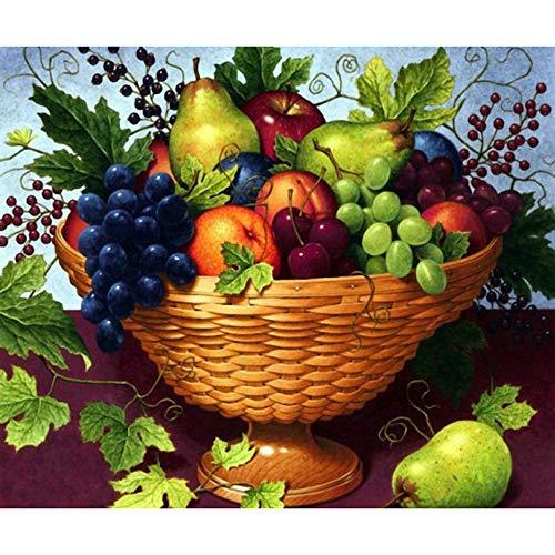 WMBHV Fruit Basket 5D DIY Full Diamond Diamond Painting