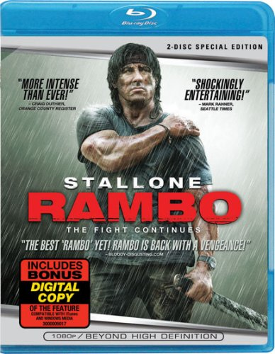 Blu-ray : Rambo (Special Edition) (Special Edition, Widescreen, , Dolby, AC-3)