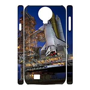 3D Sexyass Space Shuttle Samsung Galaxy S4 Cases Space Shuttle at Night, Space Shuttle [White]