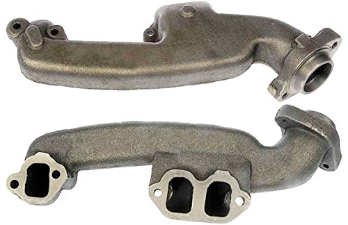 (APDTY 785983 Exhaust Manifold Cast Iron Assembly Fits Left 3.9L V6 On Select Dodge Trucks & Vans)