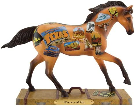 Trail of Painted Ponies Westward Ho Figurine, 6-1 2-Inch