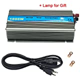 iMeshbean Premium 1000 Watts Grid Tie Inverter MPPT Pure Sine Wave for Solar Panel System 10.8-30V / 22-45V Input to 90V-140V / 220V Output Stackable USA (DC 22V-50V TO AC 110V/120V)