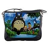 My Neighbors Totoro Gibli Japanese Manga Anime Messenger Bag School Textbook Macbook Ipad Laptop Computer Sling Cross Body Bags #1