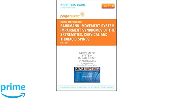 Movement system impairment syndromes of the extremities cervical movement system impairment syndromes of the extremities cervical and thoracic spines elsevier ebook on vitalsource retail access card 9780323094023 fandeluxe Images