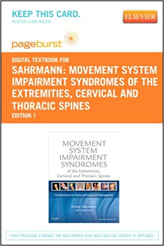 Movement system impairment syndromes of the extremities cervical movement system impairment syndromes of the extremities cervical and thoracic spines elsevier ebook on vitalsource retail access card 1e 1st edition fandeluxe Choice Image