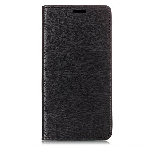 - Happon (For Sony Xperia XA2 Ultra) Flip Wallet Case Cover and 360 Degree Full Body Protective Bumper Cover, Premium Case slim Material - Black