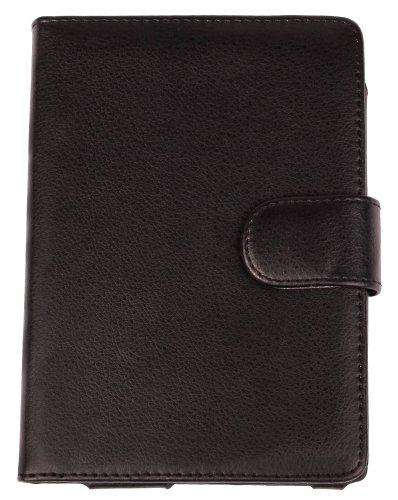 Duragadget Kunstleder-Schutzhülle für Sony eBook Reader PRS-T3S, maßgefertigt, schwarz