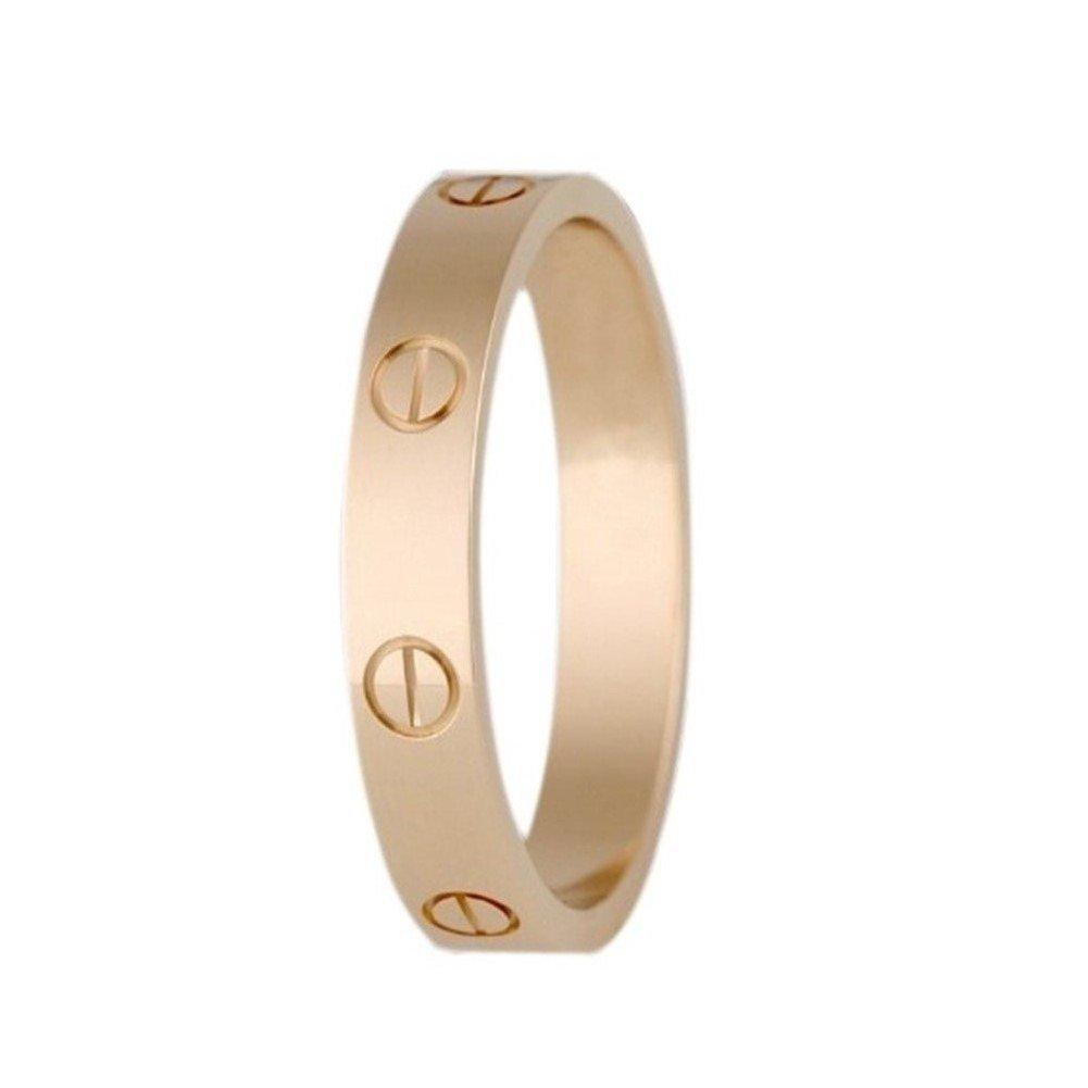 FHMZ Love Ring-Rose Gold Lifetime Just Love You 4MM in Width Sizes 7