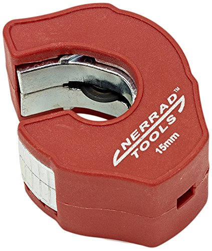 Nerrad Tools NT3015 Ratchet Action Copper Tube Cutter, Red/Silver, 15 mm Nerrad Limited