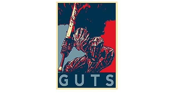- Formato A3 berserker Poster Berserk Propaganda Gatsu 42x30 cm