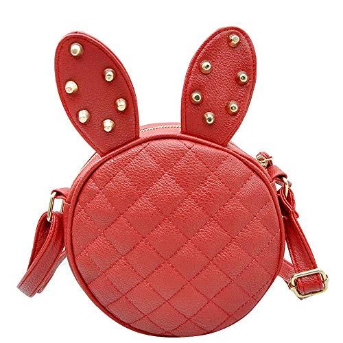 Rosso catena Pochette a Donna Girl spalla Mini Borsa Crossbody Polp Hand Fashion con Borse e Portafogli Totes portamonete wxqZnT