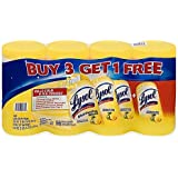 Lysol 240-Count 3-Pack Disinfecting Wipes with 80-Count Bonus Pack in Lemon Lime Blossom Scent (3-Pack with Bonus 1)
