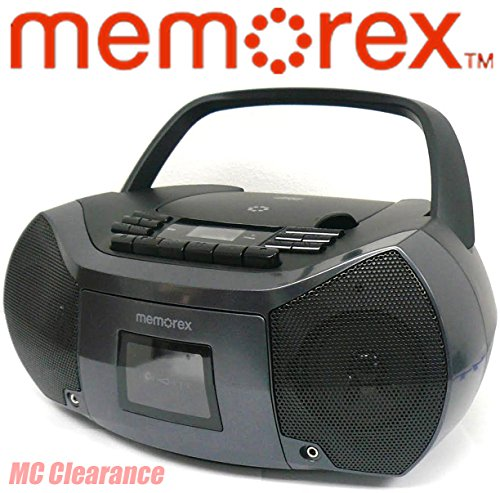 Memorex MP3261 FlexBeats MixBox with CD/Cassette and AM/FM B