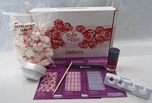 Jamberry Nail Wrap - Ruby & Rose Gift Set