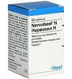 NERVOHEEL N - RELIEVE STRESS, Anxiety, Nervousness, Sleeping Disorders 50 tab