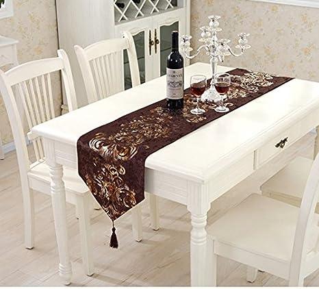 YYHAD Tavolo moderno Banner da tavolo in stile Banner Cucina Tavolo ...
