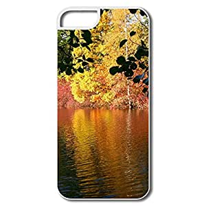 IPhone 5 5s Case Shell Fall Reflexion,Custom Your Own Movies Case For IPhone 5 5s