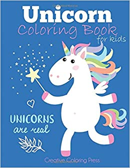 Unicorn Coloring Book for Kids: Magical Unicorn Coloring Book for ...