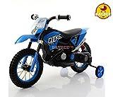 BAYBEE Kawasaki Super Racing Battery Operated Bike, Blue