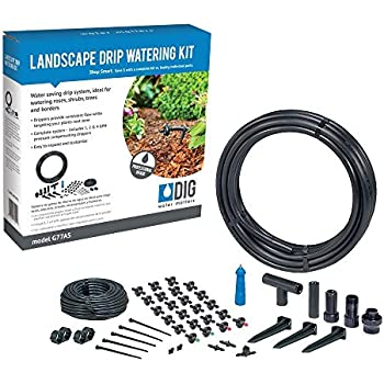 Amazon Com Dig G77as Landscape Drip Watering Kit
